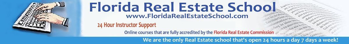 Florida Real Estate School Online